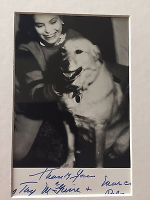 Genuine Hand Signed Vintage Dorothy Maguire Photo
