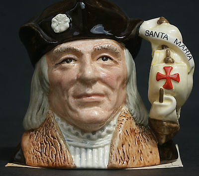 "Royal Doulton ""christopher Columbus"" Toby Jug - Limited Edition Cert."