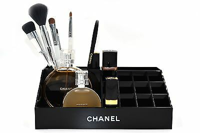 Chanel Make Up  Cosmetic Box Organizer 100% Authentic Rare