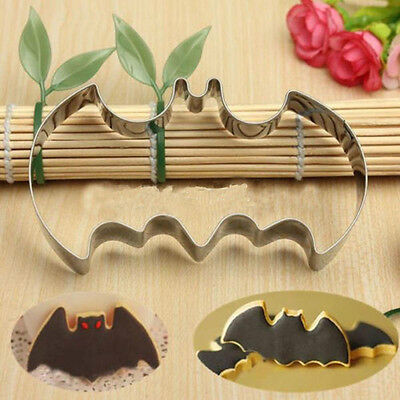 New Batman Bat Biscuit Cake Cookie Mold Cutter Christmas Cutting Metal Boy Party