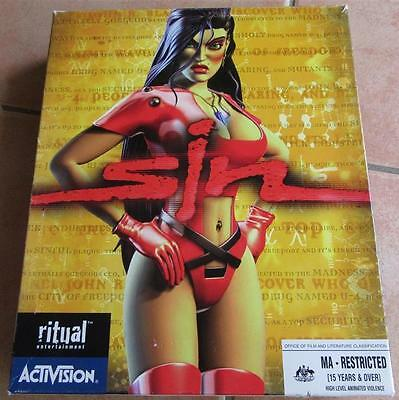 PC Game - Sin by Ritual Entertainment / Activision *Complete Game* Big Box