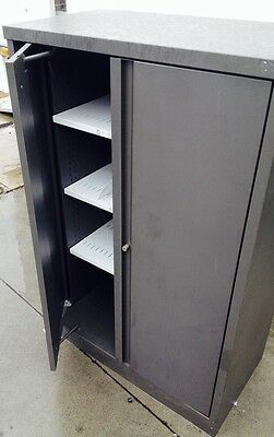 CSM STORAGE CABINET 135H 90w CMS 3 SHELVES FILING TOOLS OFFICE security furnitir