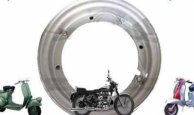 "Vespa 8'' Wheel Rim 3.50 X 8 "" Open Steel Vespa Vbc V8010 Scoots Super  @aus"