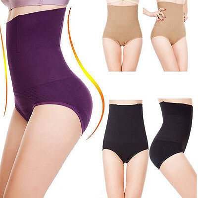 Women High Waist Briefs Shapewear Panties Body Shaper Control Tummy Underwear