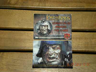 The Lord Of The Rings{The Returne Of The King} Topps  3/10