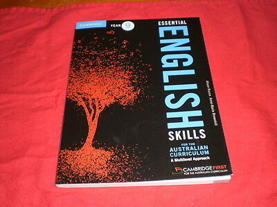 Cambridge Year 9 Essential English Skills Textbook