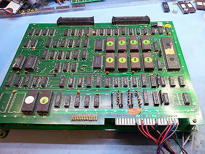"""FAULTY """"Terra Cresta"""" Runs with Graphic Issues Sound OK Arcade Jamma Game PCB"""