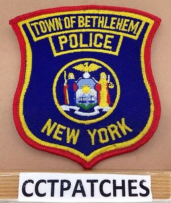 Town Of Bethlehem, New York Police Shoulder Patch Ny