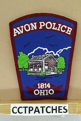 Avon Lake, Ohio Police (Blue) Shoulder Patch Oh