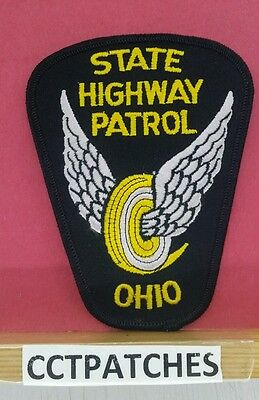 Ohio State Highway Patrol Police Shoulder Patch Oh