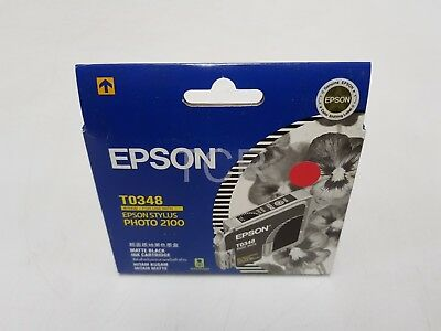 Epson T0348 Matte Black Ink Cartringe
