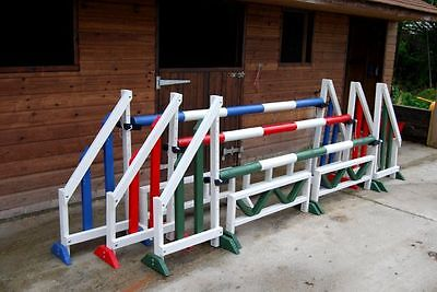 set of 3 jumps&fillers by bristolshowjumps WITH KEYHOLE TRACKS