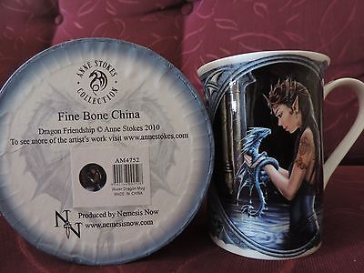 Anne Stokes Water Dragon Collectable Mug And Gift Box