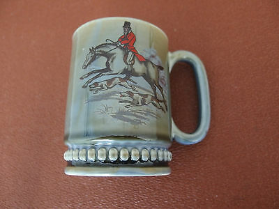 Wade Pottery: Hunting Scene - Horse & Hounds - mid 1950's