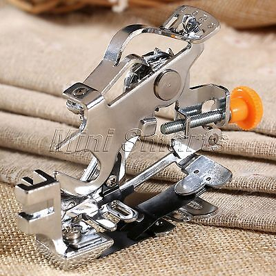 """3.15""""*2.56"""" Ruffler Presser Foot & Instructions For Singer Janome Sewing Machine"""