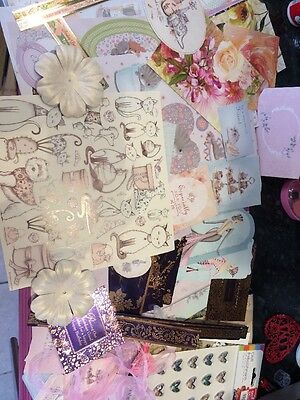 craft clearout Hunkydory, Kanban Topper Bundle Mixed Lot Full Decoupage Sheets