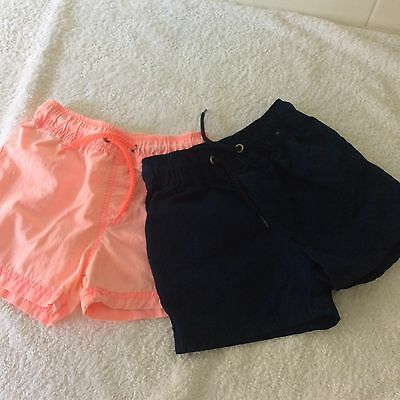 Two Pairs Of Baby Boy Cotton On Shorts