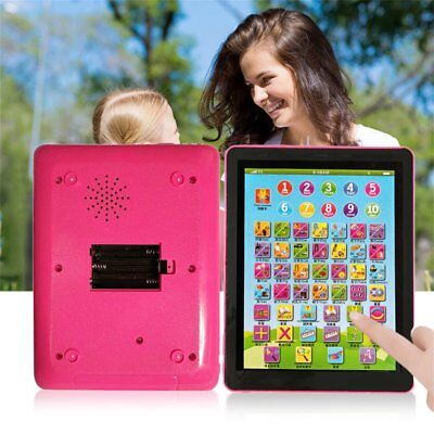 Tablet Pad Computer For Kid Children Learning English Educational Teach Toy DP
