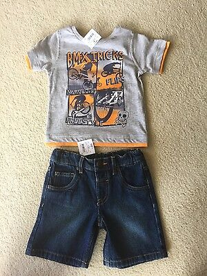 Boys T-Shirt and Shorts Size 1