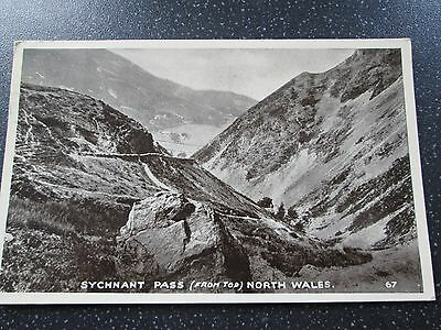 Vintage 1954 Photo Postcard Sychnant Pass North Wales
