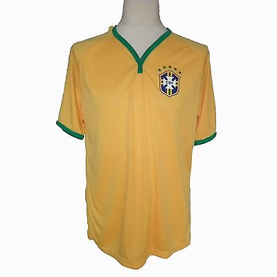 Mens Brazil Football Shirt Large Official Product from Brazil BNWT