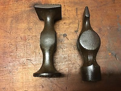Vintage Leather Goods or Cobblers/Upholsters Hammer Heads.