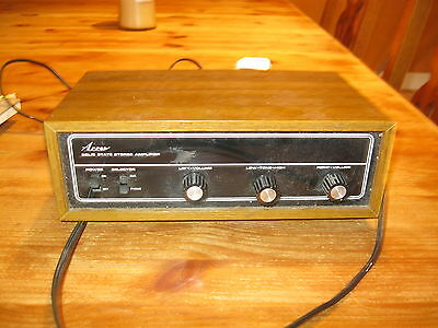 stereo amplifier vintage Arrow solid state