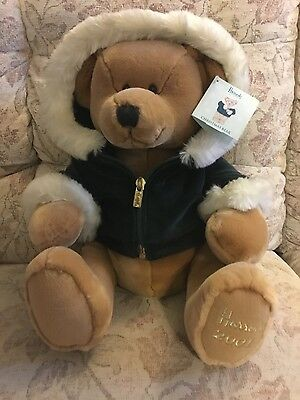 Harrods Christmas Bear. 2001. New with tags