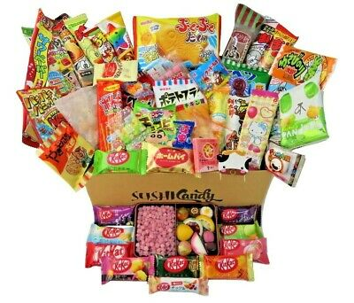Japanese Candy 50 pc FEBRUARY set 10 Japanese KITKAT + POPIN COOKIN + 40 sweets