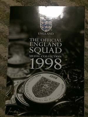 Sainsburys Coin Collection Official England Squad Medal Collection 1998 Complete