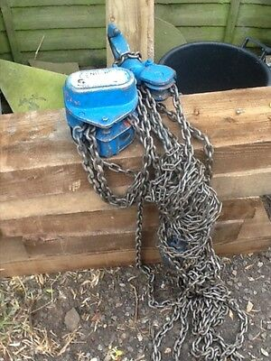 heavy duty chain hoist 5 ton (block and tackle)