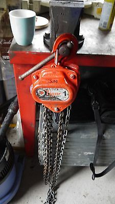 1 tonne chain hoist TIGER block and tackle