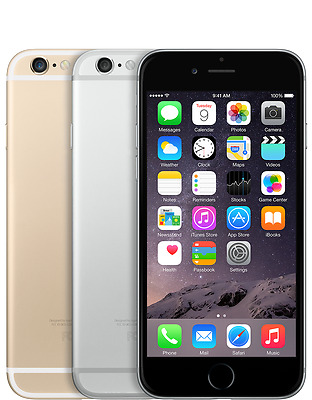 Apple iPhone 6 - 16GB or 64GB - Unlocked SIM Free Smartphone Various Colours
