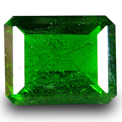 3.54 ct  Significant Octagon Shape (10 x 8 mm) Green Chrome Diopside Gemstone