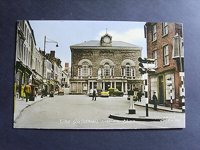Carmarthenshire: The Guildhall, Carmarthen - Printed - Posted 1963