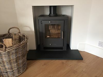 Black Slate hearth 1200 x 600 x 30mm, slate table top,coping stone or steps