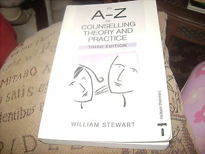 a - z of counselling theory and practice third edition by william stewart