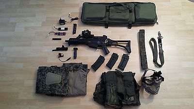 Pack kit completo profesional airsoft (umarex swiss arms, y más)