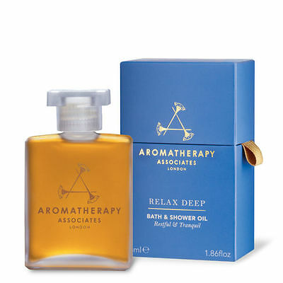Aromatherapy Assoc. Deep Relax Bath And Shower Oil 55Ml