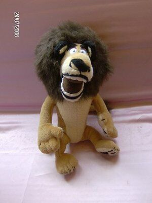 8 Inch Alex The Lion from Madagascar Soft Toy