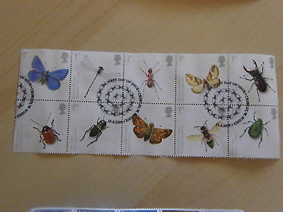 2008 - Insects - good used BLOCK set