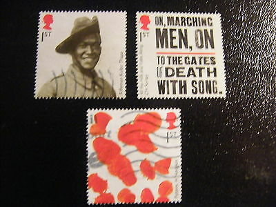 2015 - Great War - 3 * 1st Class used