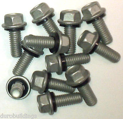 "Duro Steel Building 1100 Count 5/16""x 3/4"" New Arch Grain Bin Bolts,Nuts,Washers"