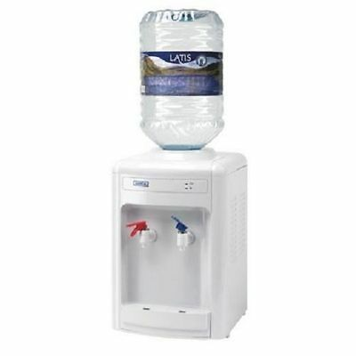Justeau Table Top Water Dispenser  - White - Hot or Cold - ACC/WW - NEW