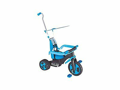 GUT: 6 in 1 full Tricycle with handle and hood - blue