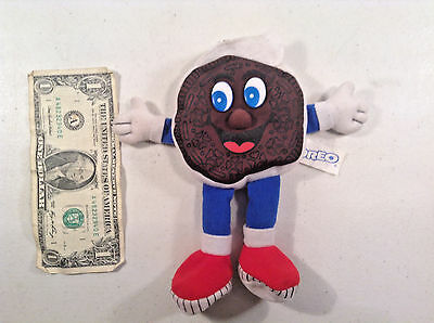 """New Oreo Bean Bag Doll-7""""-Toy-Advertising-Cookies"""