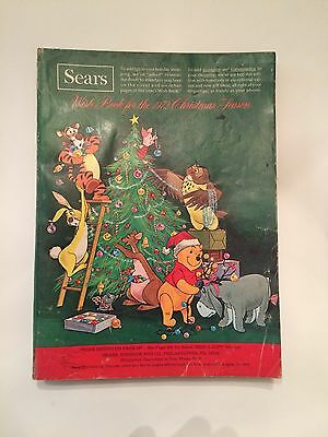 1972 SEARS CHRISTMAS CATALOG Toys, Dolls, Bicycles, Stereo ,
