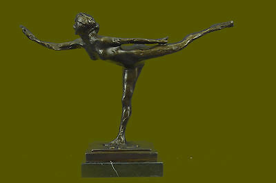 Edward Degas Rare Museum Quality Classic Nude Artwork Dancer Ballerina Bronze