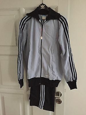 Vintage Adidas Track Suit 1970's Rare Made in West Germany D94 Deadstock