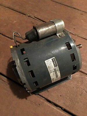 Hvac Fasco 1/4 Hp 1015 Rpm Thermally Protected Motor With Capacitor